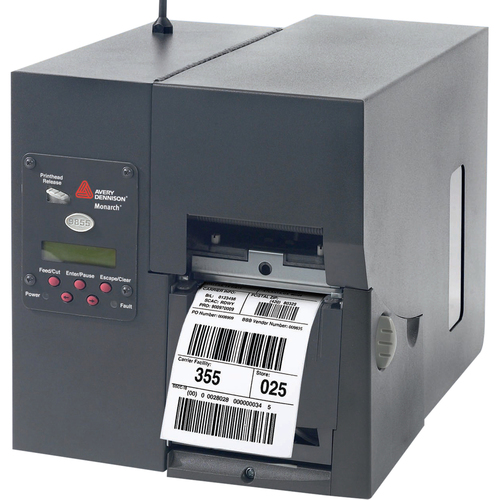 Avery Dennison 9855 Direct Thermal/Thermal Transfer Printer - Monochrome - Desktop - Receipt Print
