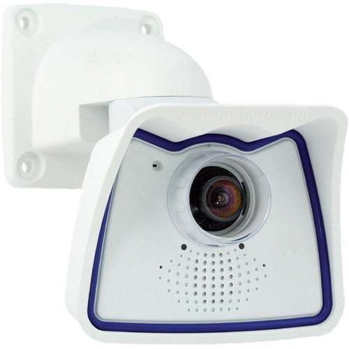 MOBOTIX Allround M24 MX-M24M-SEC Surveillance/Network Camera - Color, Monochrome - CS Mount