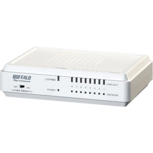 Buffalo LSW3-TX-8EP/W Ethernet Switch