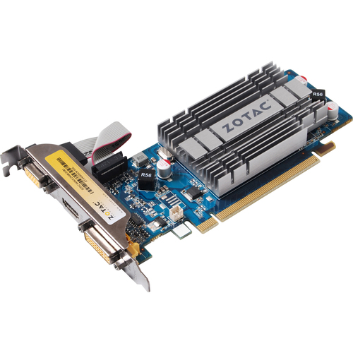 Zotac ZT-84GED2M-HSL GeForce 8400 GS Graphic Card - 520 MHz Core - 256 MB DDR3 SDRAM - PCI Express 2.0 x16Low-profile