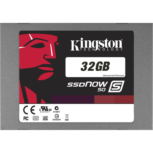 Kingston SSDNow S50 32 GB Internal Solid State Drive - 1 Pack
