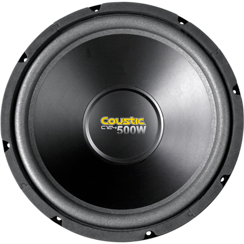Mitek Corporation C124 Woofer - 250 W RMS - 500 W PMPO - 1 Pack