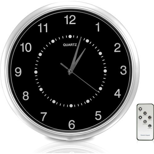 SecurityMan ClockCamDVR Wall Clock