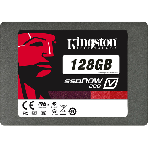 Kingston SSDNow V200 128 GB Internal Solid State Drive - 1 Pack