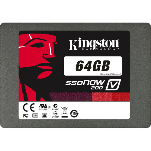 Kingston SSDNow V200 64 GB Internal Solid State Drive - 1 Pack