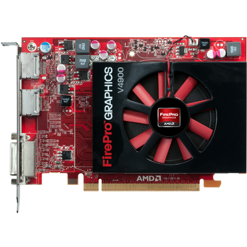 AMD FirePro V4900 Graphic Card - 1 GB GDDR5 SDRAM - PCI Express 2.1 x16 - Half-length/Full-height