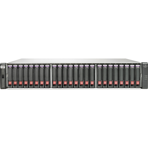 HP StorageWorks P2000 G3 SAN Hard Drive Array - 12 x HDD Installed - 12 TB Installed HDD Capacity