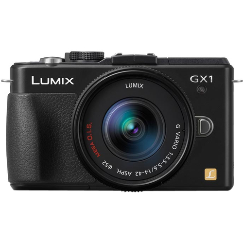 Panasonic Lumix DMC-GX 16 MP Micro 4/3 Compact System Camera with 3-Inch LCD Touch Screen