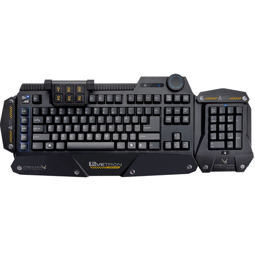 AziO Corporation KB588U Levetron Mech4 Keyboard