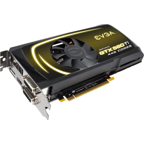 EVGA 012-P3-2066-KR GeForce GTX 560 Ti Graphic Card - 797 MHz Core - 1.25 GB GDDR5 SDRAM - PCI Express 2.0 x 16