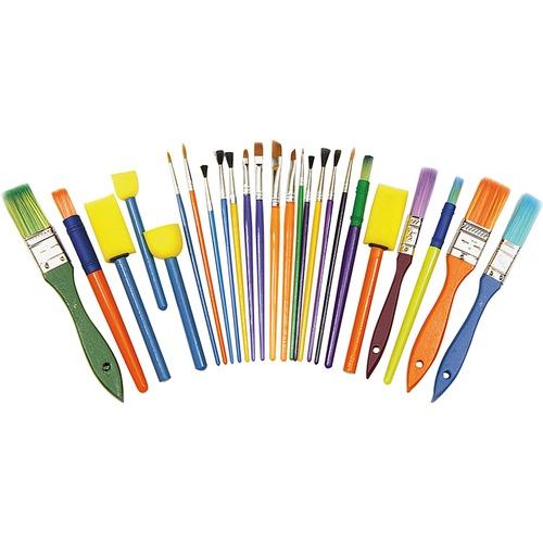 Chenille Kraft Assorted Brush Starter Set   by Plexsupply