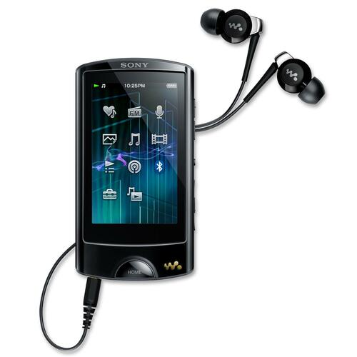 Sony Walkman NWZ-A865BLK 16 GB Black Flash Portable Media Player