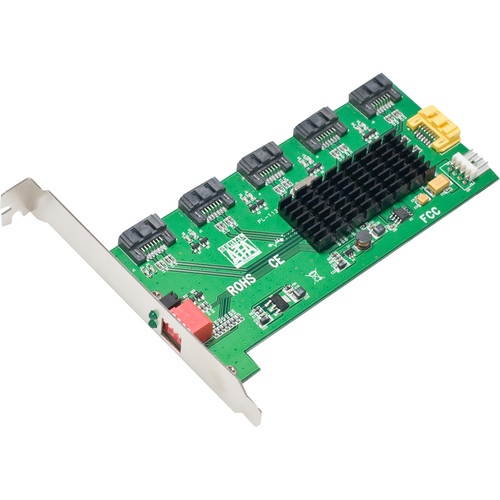 SYBA Multimedia, Inc. 1:5 (5x1) Internal SATA II Port Multiplier (PM)