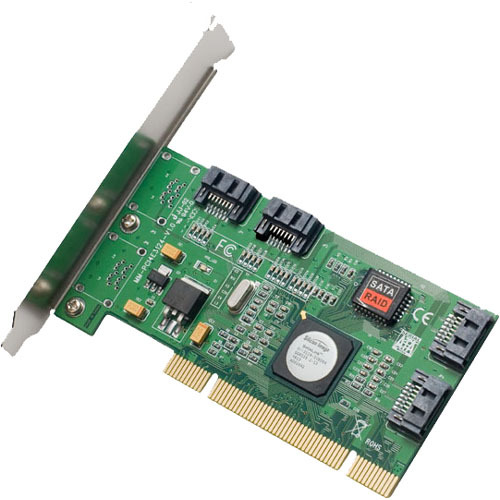 SYBA Multimedia SATA II 4x Internal ports software RAID Host Controller Card