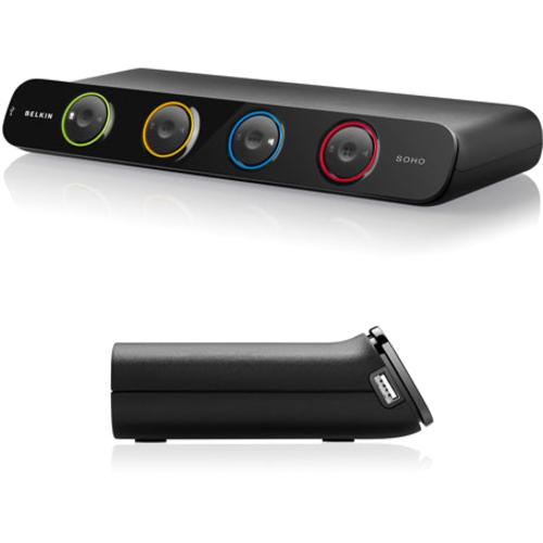 Belkin OmniView Soho Dual DVI USB 2-Ports KVM Switch F1DH102D