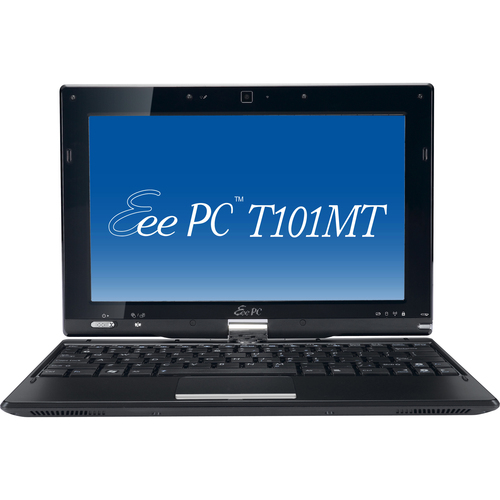 "Asus Eee PC T101MT-EU47-BK 10.1"" LED Atom 1.66GHz 1GB DDR3 SDRAM 320GB HDD 32-bit Windows 7 Starter Black Tablet PC"