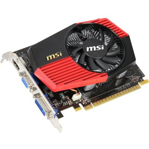 MSI N430GT-MD2GD3/OC GeForce GT 430 Graphic Card - 730 MHz Core - 2 GB DDR3 SDRAM - PCI Express 2.0 x16