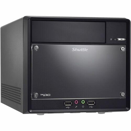 Shuttle XPC SH61R4 Barebone System - Intel H61 Express Chipset - Socket H2 LGA-1155 - Core i3, Core i5, Core i7, Celeron