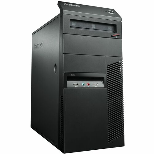 Lenovo ThinkCentre M77 1995A7U Desktop Computer - AMD Athlon II X2 B26 3.20 GHz - Tower - Business Black