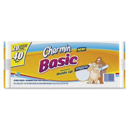 Procter & Gamble Basic Double Roll Bathroom Tissue