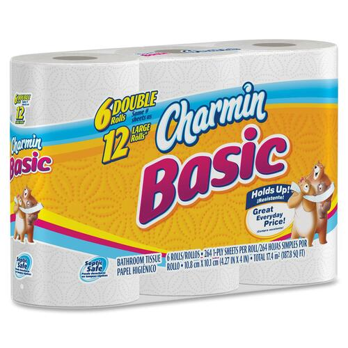 Procter & Gamble Basic 1-ply Toilet Paper