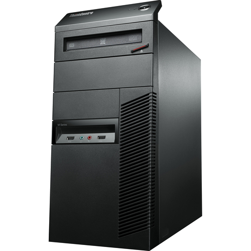 Lenovo ThinkCentre M91p 7052C2U Desktop Computer - Intel Core i5 i5-2400 3.10 GHz - Tower - Business Black