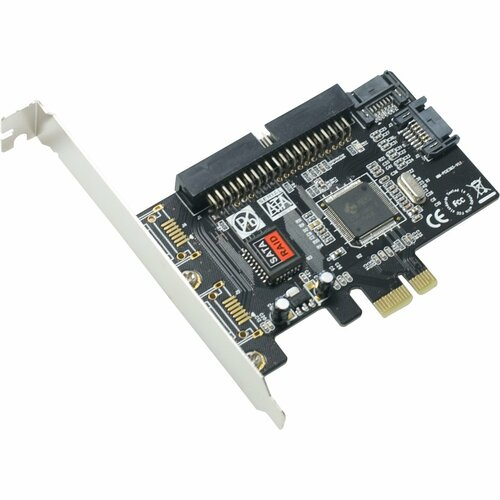 SYBA Multimedia SY-PEX50039 Combo SATA II / IDE PCI Express Host Controller Card JMB363 Chipset