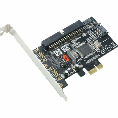 SYBA Multimedia, Inc. SY-PEX50039 Combo SATA II / IDE PCI Express Host Controller Card JMB363 Chipset