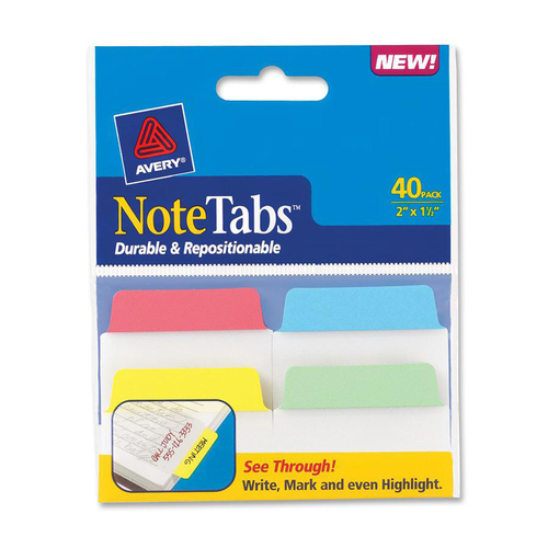 Avery NoteTabs Traditional File Tab