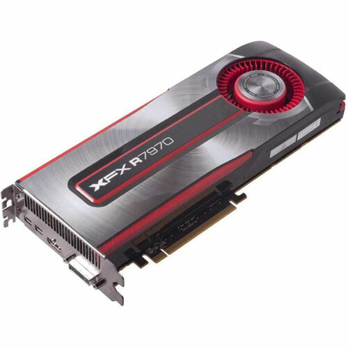 XFX Radeon HD 7970 Graphic Card - 1000 MHz Core - 3 GB GDDR5 SDRAM - PCI-Express 3.0 x16