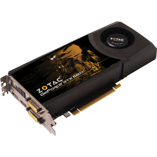 Zotac ZT-50306-10M GeForce GTX 560 Graphic Card - 822 MHz Core - 1 GB GDDR5 SDRAM - PCI Express 2.0 x16