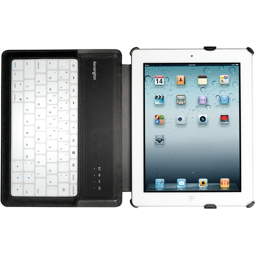 Acco K39527US KeyLite Ultra Slim Touch Keyboard Folio for iPad 2