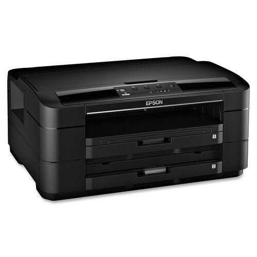 Epson WorkForce WF-7010 Inkjet Printer - Color - 5760 x 1440 dpi Print - Plain Paper Print - Desktop