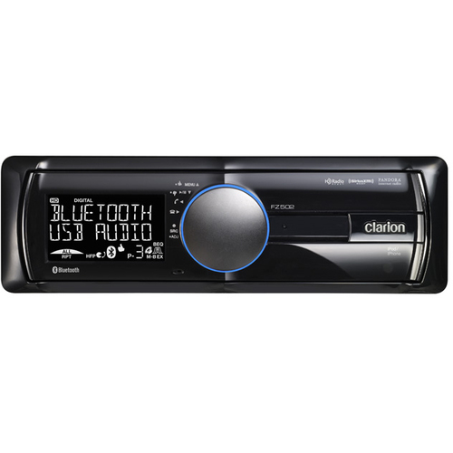 Clarion FZ502 Car Flash Audio Player - 76 W RMS - iPod/iPhone Compatible