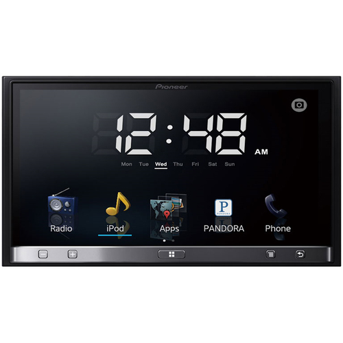 "Pioneer SPH-DA100 Car Flash Video Player - 7"" Touchscreen LCD Display - 800 x 480 - 200 W RMS - iPod/iPhone Compatible"