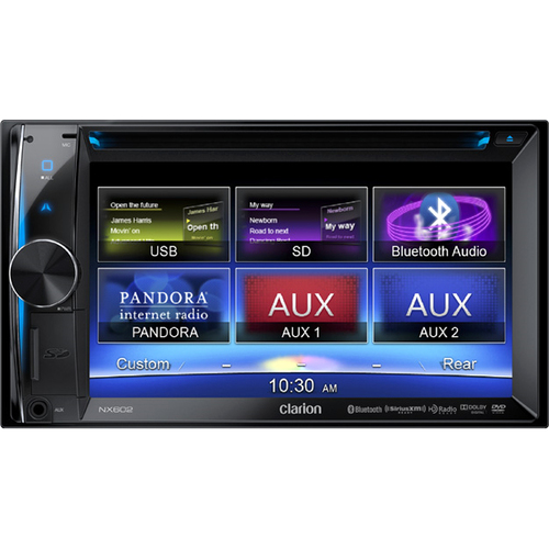 Clarion NX602 Automobile Audio/Video GPS Navigation System