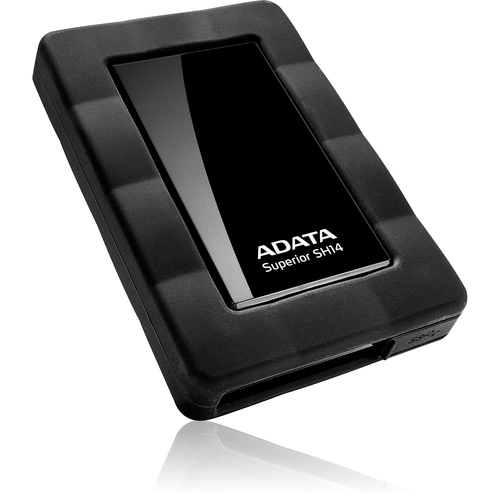 "A-Data Technology Superior SH14 ASH14-1TU3-CBK 1 TB 2.5"" External Hard Drive - Black"