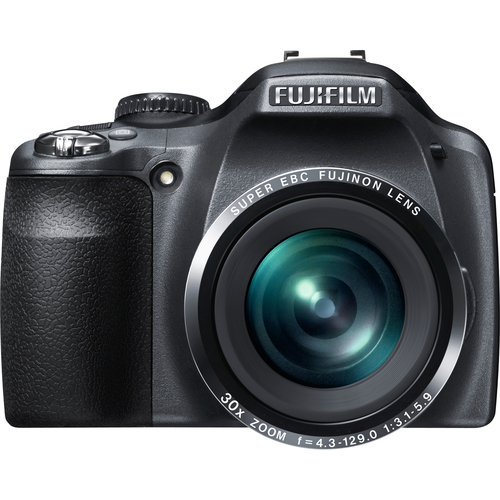 Fuji FinePix SL300 14 Megapixel Bridge Camera - Black