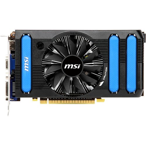 MSI N550GTX-Ti-MD1GD5 GeForce GTX 550 Graphic Card - 900 MHz Core - 1 GB GDDR5 SDRAM - PCI Express 2.0 x16
