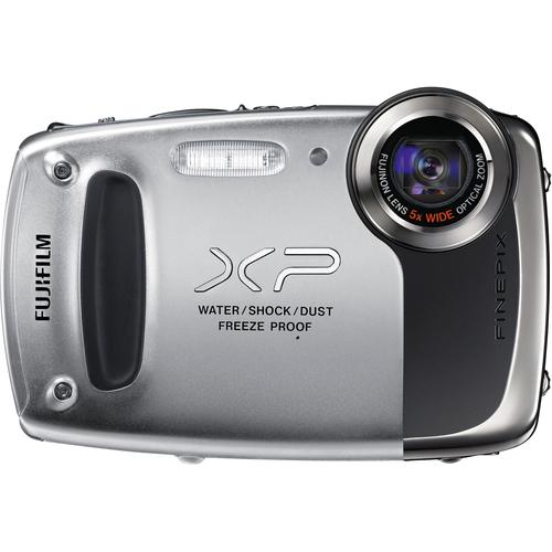 Fuji FinePix XP50 14.4 Megapixel Compact Camera - Silver
