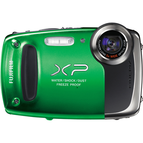 Fuji FinePix XP50 14.4 Megapixel Compact Camera - Green