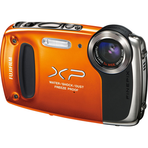 Fuji FinePix XP50 14.4 Megapixel Compact Camera - Orange
