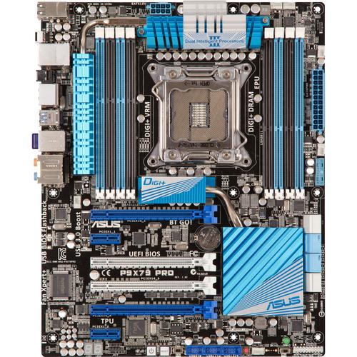 Asus P9X79 PRO Desktop Motherboard - Intel X79 Express Chipset - Socket LGA-2011