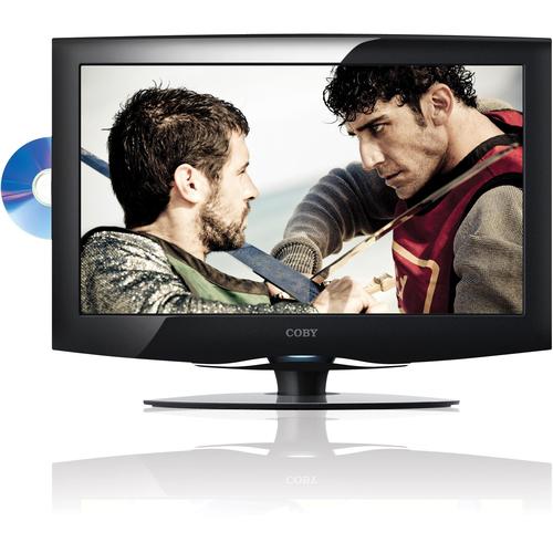 "Coby LEDVD1996 18.5"" TV/DVD Combo - HDTV - 16:9 - 1366 x 768 - 720p"