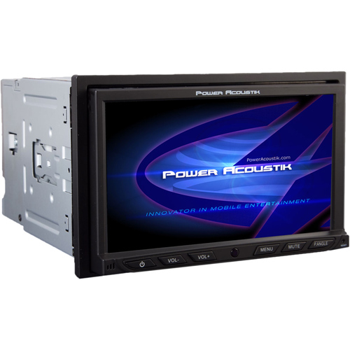 "Power Acoustik PD-762 Car DVD Player - 7"" Touchscreen LCD Display - 800 x 480 - 68 W RMS - In-dash - Double DIN"