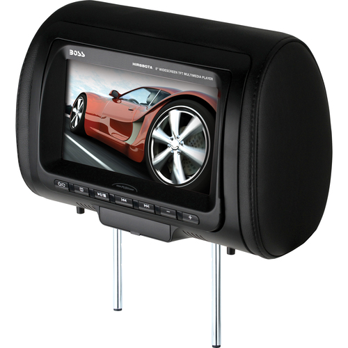 "Boss Audio HIR8BGTA Car DVD Player - 8"" LCD Display - 16:9 - 800 x 480 - Headrest-mountable"