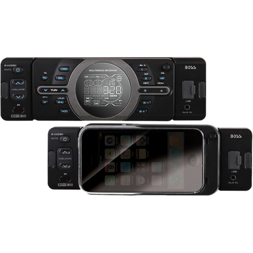 Boss Audio 810DBI Car Flash Audio Player - 320 W RMS - iPod/iPhone Compatible - Single DIN