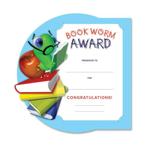 Southworth Motivations Bookworm Award Certificate