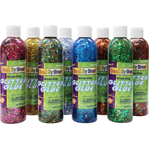 Chenille Kraft Classroom Size Glitter Chips | by Plexsupply