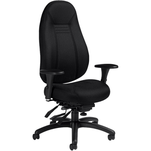 Global Obusforme Comfort High Back Multi Tilter Chair GLBOX - Global chairs